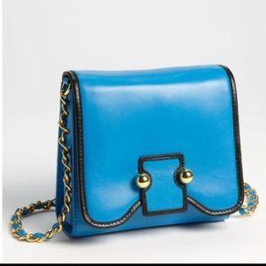 ❤️ BOTKIER ❤️ BNWT LUCY CYAN BLUE CROSSBODY BAG